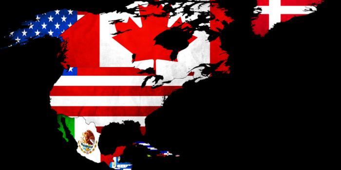 Диференціація прапорів Північної Америки